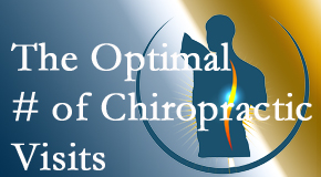 It's up to you and your pain as to how often you see the Sandy Springs chiropractor.