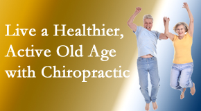 Cross Chiropractic Center welcomes older patients to incorporate chiropractic into their healthcare plan for pain relief and life's fun.