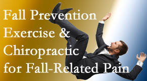 Cross Chiropractic Center shares new research on fall prevention strategies and protocols for fall-related pain relief.