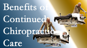 Cross Chiropractic Center offers continued chiropractic care (aka maintenance care) as it is research-documented as effective.