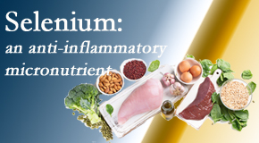 Cross Chiropractic Center shares details about the micronutrient, selenium, and the detrimental effects of its deficiency like inflammation.