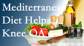 Cross Chiropractic Center shares recent research about how good a Mediterranean Diet is for knee osteoarthritis as well as quality of life improvement.