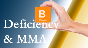 Cross Chiropractic Center knows B vitamin deficiencies and MMA levels may affect the brain and nervous system functions.