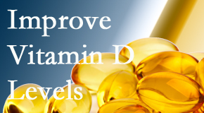 Cross Chiropractic Center explains that it's beneficial to raise vitamin D levels.