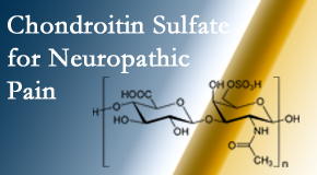 Cross Chiropractic Center finds chondroitin sulfate to be an effective addition to the relieving care of sciatic nerve related neuropathic pain.