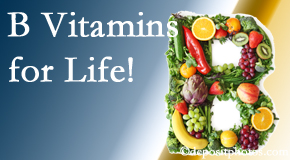 Cross Chiropractic Center emphasizes the importance of B vitamins to prevent diseases like spina bifida, osteoporosis, myocardial infarction, and more!