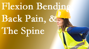 Cross Chiropractic Center helps workers with their low back pain because of forward bending, lifting and twisting.