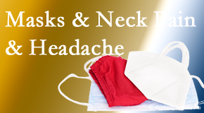Cross Chiropractic Center shares how mask-wearing may trigger neck pain and headache which chiropractic can help alleviate.