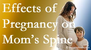 Sandy Springs mothers are predisposed to develop spinal issues as they grow older.