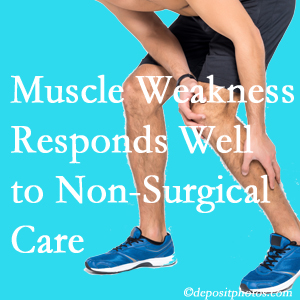 Sandy Springs chiropractic non-surgical care manytimes improves muscle weakness in back and leg pain patients.
