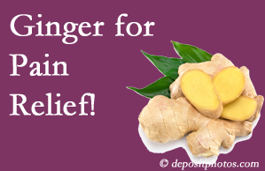 Sandy Springs chronic pain and osteoarthritis pain patients will want to look in to ginger for its many varied benefits not least of which is pain reduction.