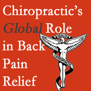 Cross Chiropractic Center is Sandy Springs's chiropractic care hub and is excited to be a part of chiropractic as its benefits for back pain relief grow in recognition.