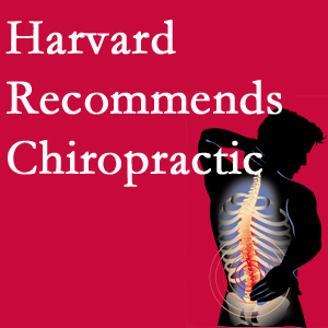 Cross Chiropractic Center offers chiropractic care like Harvard recommends.