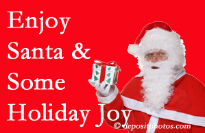 Sandy Springs holiday joy and even fun with Santa are analyzed as to their potential for preventing divorce and increasing happiness.