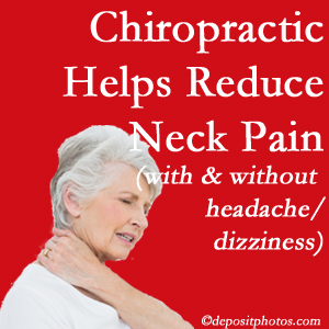 Sandy Springs chiropractic treatment of neck pain even with headache and dizziness relieves pain at a reduced cost and increased effectiveness.