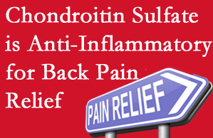 Sandy Springs chiropractic treatment plan at Cross Chiropractic Center may well include chondroitin sulfate!