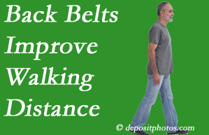 Cross Chiropractic Center sees value in recommending back belts to back pain sufferers.