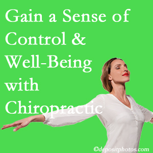 Using Sandy Springs chiropractic care as one complementary health alternative boosted patients sense of well-being and control of their health.