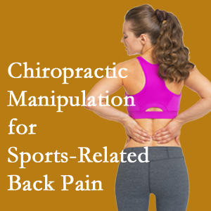Sandy Springs chiropractic manipulation care for everyday sports injuries are recommended by members of the American Medical Society for Sports Medicine.