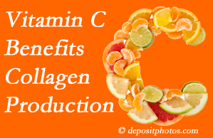 Sandy Springs chiropractic shares tips on nutrition like vitamin C for boosting collagen production that decreases in musculoskeletal conditions.