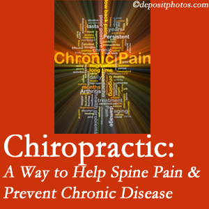 Cross Chiropractic Center helps relieve musculoskeletal pain which helps prevent chronic disease.